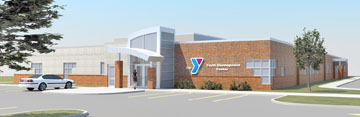 Rendition of the new Youth Center